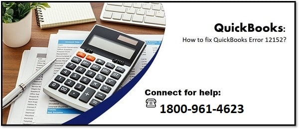 How to Fix QuickBooks Error 12152