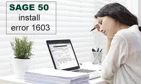 How to Fix Sage 50 Error 1603