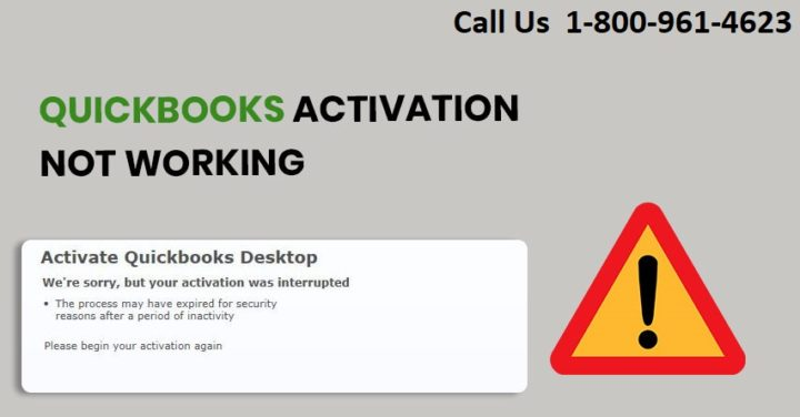 How to Fix QuickBooks Desktop Activation Issue