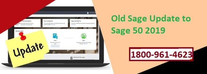 Update old Version Sage to Sage 50 2019