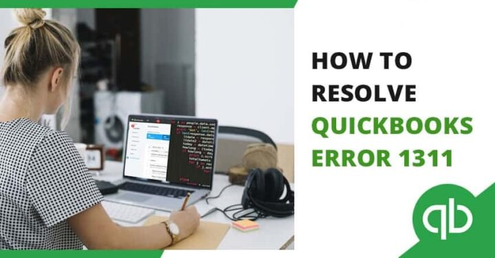 QuickBooks error 1311
