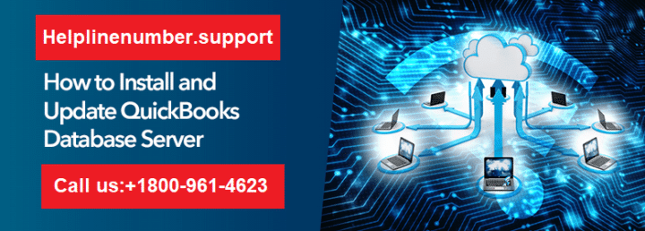 Install and update QuickBooks database server