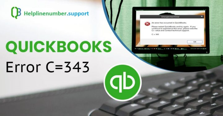 How to Resolve QuickBooks Error Code C=343