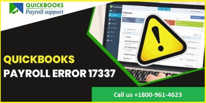 How to Solve QuickBooks Payroll Error 17337?