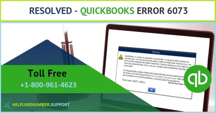 How to Fix QuickBooks Error 6073?