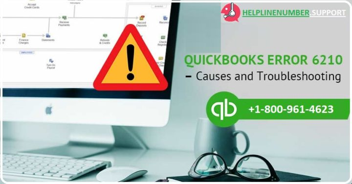 QuickBooks error 6210