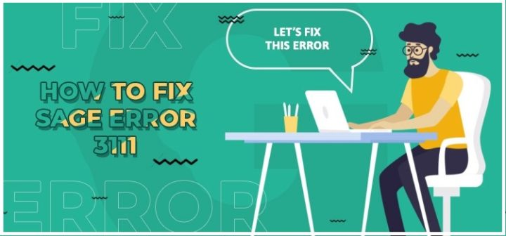 How to Troubleshoot Sage 50 Error 3111?