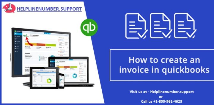 How to create invoice in QuickBooks
