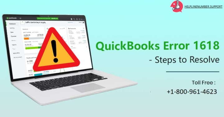 QuickBooks Error 1618