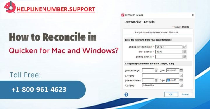 How to Reconcile in Quicken for Mac and Windows?