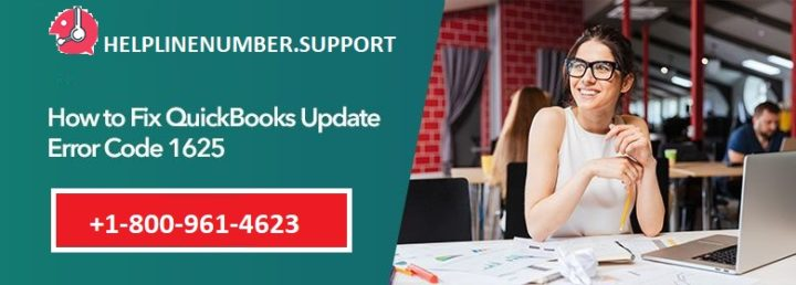 How to Fix QuickBooks Update Error 1625?