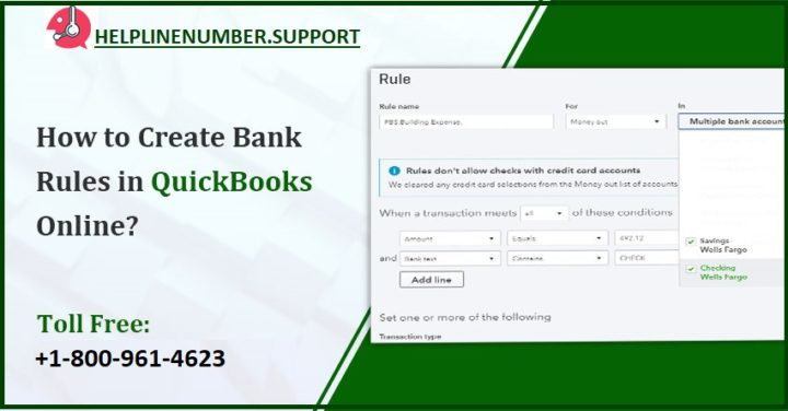 How to Create Bank Rules in QuickBooks Online?