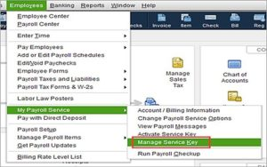 payroll service key manage access