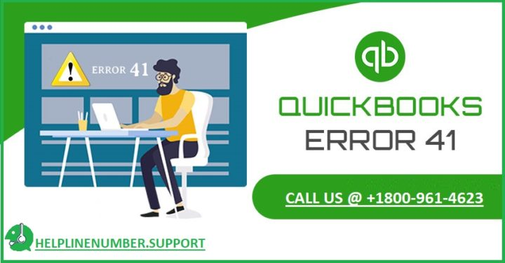 How to Troubleshoot QuickBooks Error 41?