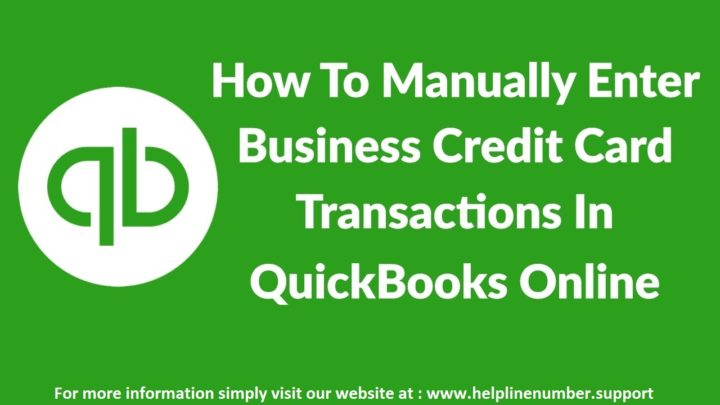 How to Process Credit Card Payments in QuickBooks Online?