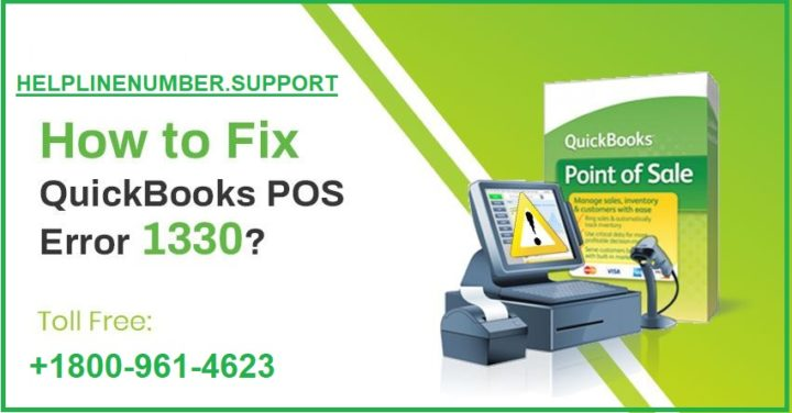 How to Fix QuickBooks POS Error 1330 ?