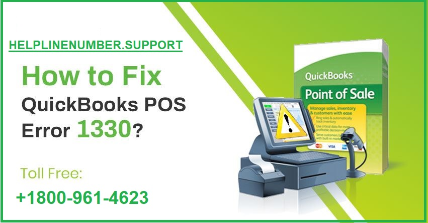 QuickBooks POS error 1330