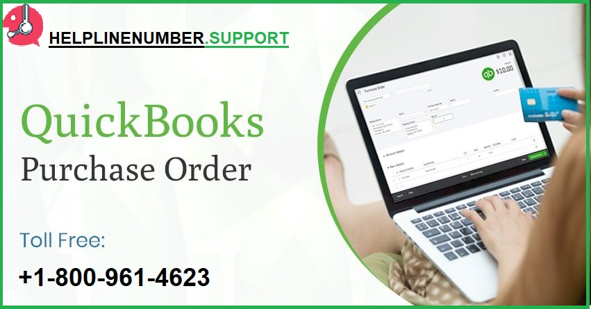 QuickBooks purchase order