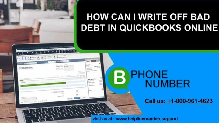 Bad debt in QuickBooks