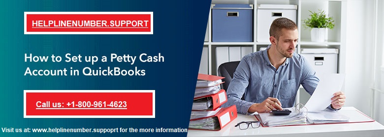 petty cash account in QuickBooks