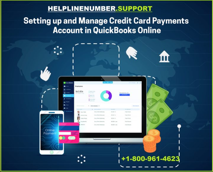 set up credit card accounts in Quickbooks