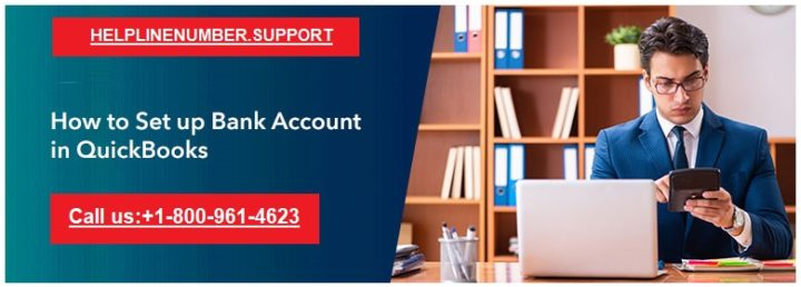 setup bank account in Quickbooks