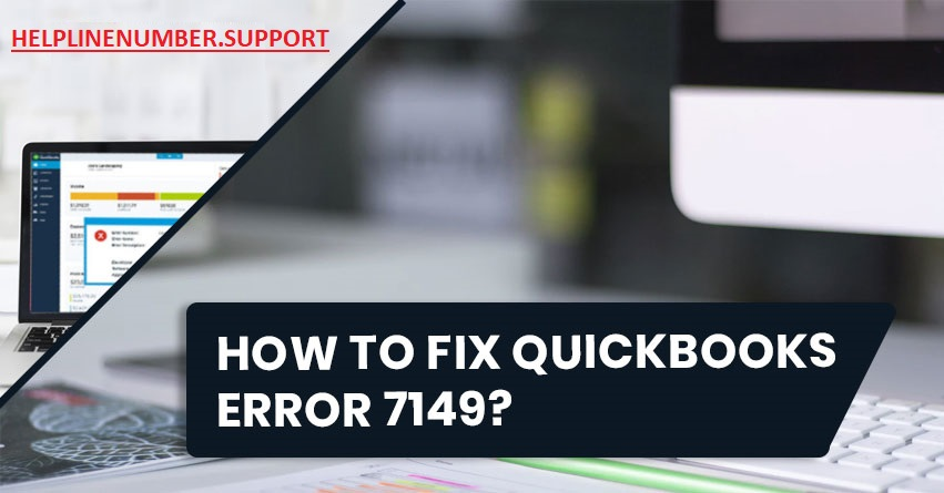 QuickBooks Error code 7149