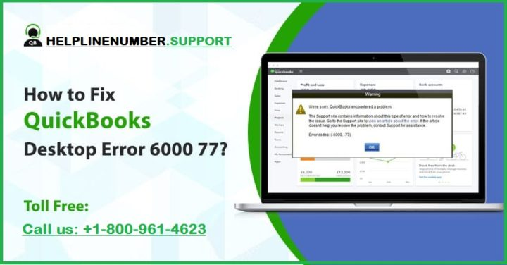 How to Resolve QuickBooks error 6000 77?