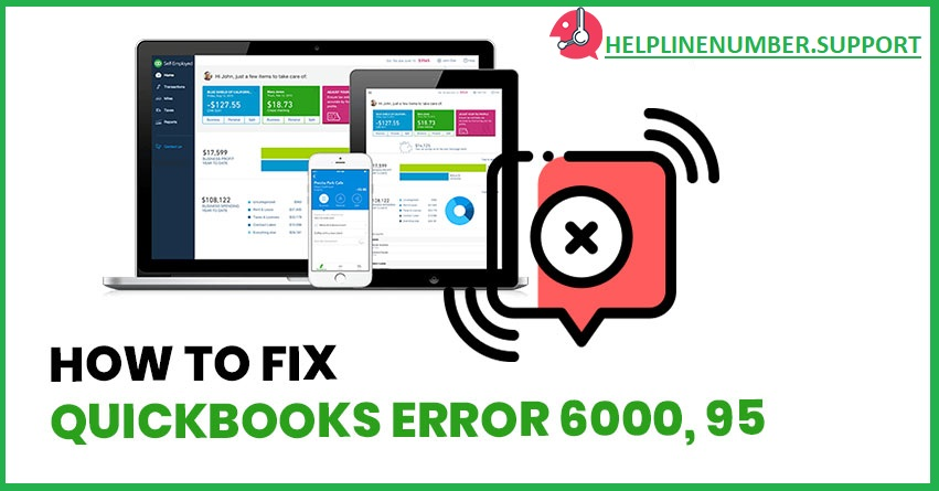 QuickBooks Error code 6000 95