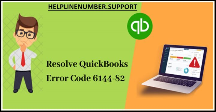 How to Solve QuickBooks Error 6144 & Error Code 6144-82?