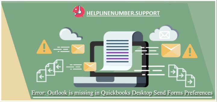 Error QuickBooks is unable to send your email