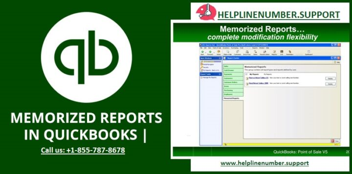 How to Delete a Memorized Reports in Quickbooks?