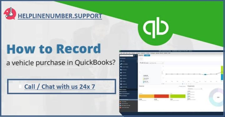 Record a Vehicle Purchase in Quickbooks