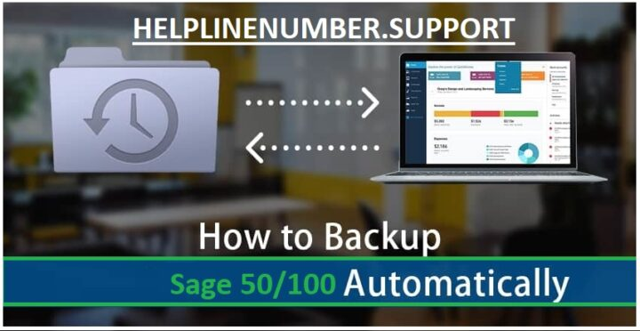 How to Set up Sage 50 Automatic Backup ?