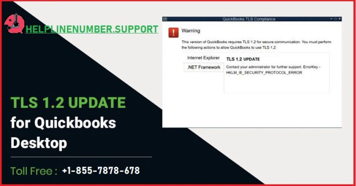 How to Fix QuickBooks TLS 1.2 Error?