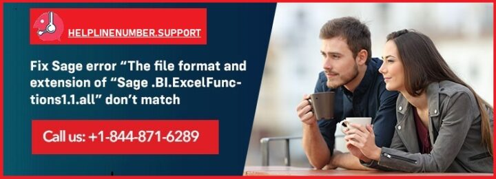 "Sage Error""The file format and extension of ""Sage.BI.Excelfunctions1.1all""?"
